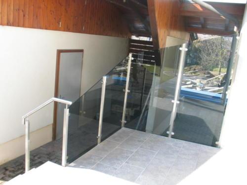 Windschutz Geländer